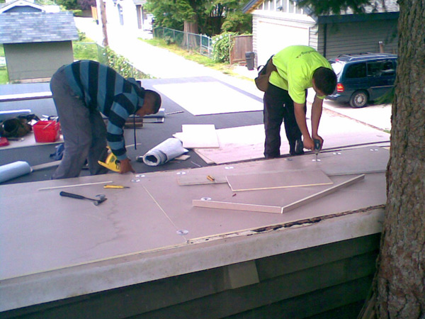 residential roofing jobs and references
